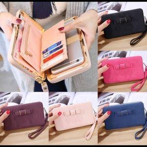 Handbags - New light pink wallet/phone holder/clutch